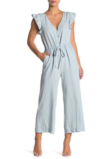 Sanctuary Mica Ruffle Sleeve Jumpsuit (Regular & Petite)