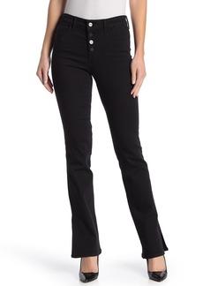 Sanctuary Mid Rise Demi Bootcut Side Slit Jeans