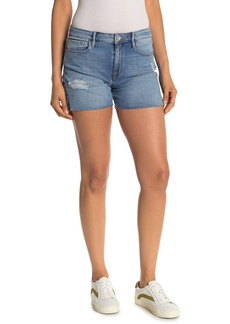 Sanctuary Midi Distressed Denim Shorts