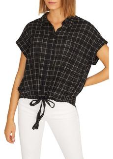Sanctuary Miles Borrego Tie Front Shirt
