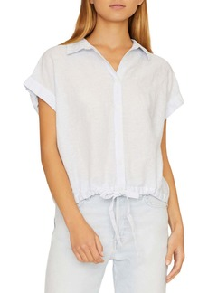 Sanctuary Miles Borrego Tie Front Shirt