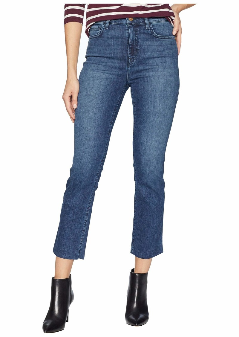 Sanctuary Modern High-Rise Crop Jeans in District Blue
