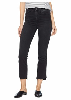 Sanctuary Modern High-Rise Straight Crop Jeans in Art School Grey