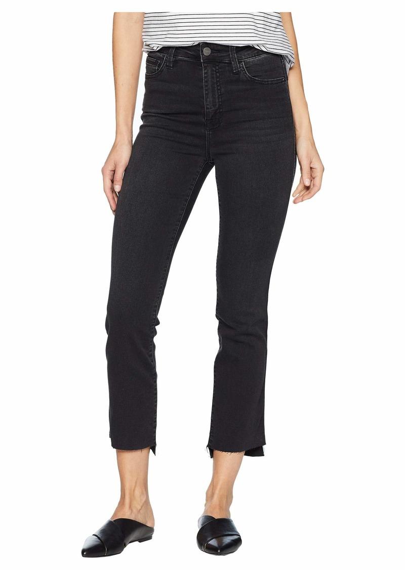 Sanctuary Modern High-Rise Straight Crop Jeans in Art School Grey