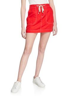 Sanctuary Peace March Linen Surplus Miniskirt
