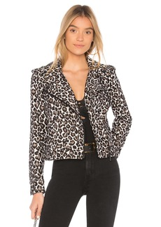 Sanctuary Poison & Leopard Moto Jacket