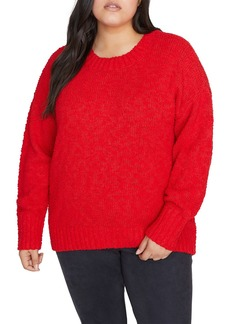 Sanctuary Popcorn Crew Neck Sweater (Plus Size)