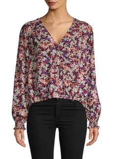 Sanctuary Printed V-Neck Top