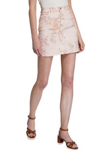 Sanctuary Ryan Floral Mini Skirt