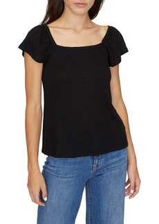 Sanctuary Ali Square Neck T-Shirt (Regular & Petite)