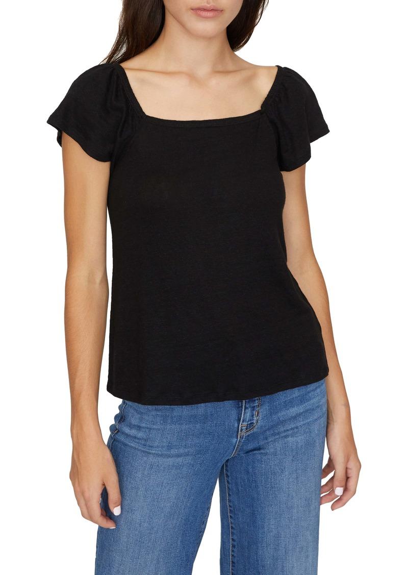 Sanctuary Ali Square Neck T-Shirt (Regular & Petite)