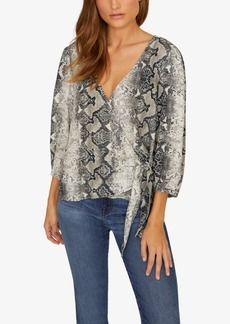 Sanctuary All Wrapped Up Printed Top