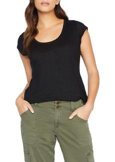 Sanctuary Alma Scoop Neck Slub Linen T-Shirt (Regular & Petite)