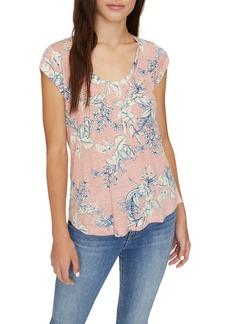 Sanctuary Alma Scoop Neck T-Shirt (Regular & Petite)
