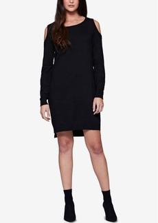 Sanctuary Amy Cold-Shoulder Sweater Dress