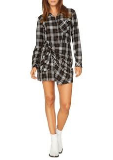 Sanctuary Ani Rebel Plaid Shirtdress