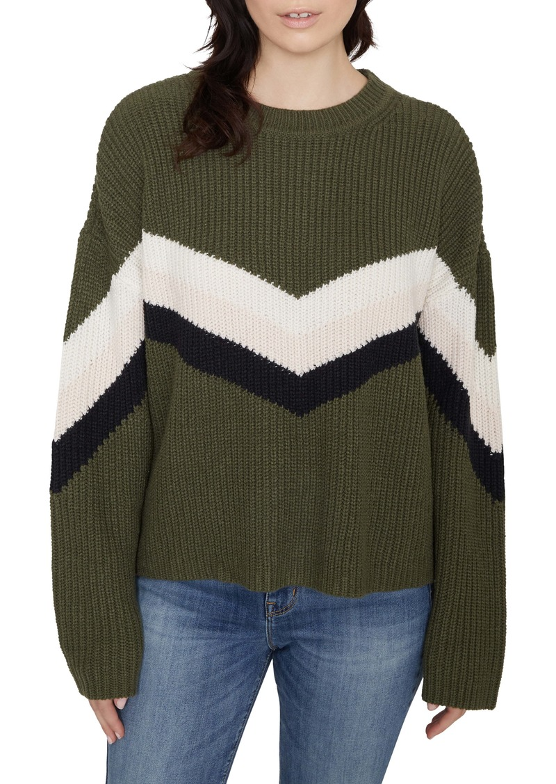 Sanctuary Aprés Ski Chevron Sweater (Regular & Petite)