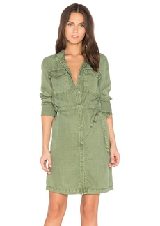 Sanctuary Army Girl Shirt Dress