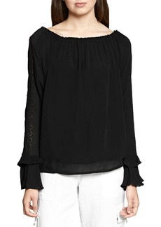 Sanctuary Artisan Eyelet Blouse
