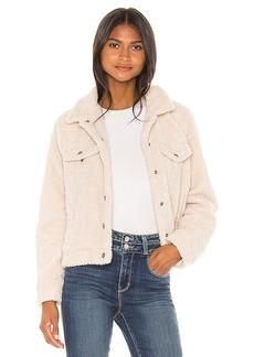Sanctuary Astoria Faux Fur Jacket