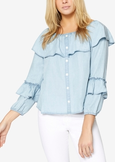 Sanctuary Avery Ruffled Blouse