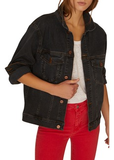 Sanctuary Axel Oversize Denim Trucker Jacket (Regular & Petite)