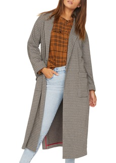 Sanctuary Bespoke Plaid Duster Jacket (Regular & Petite)