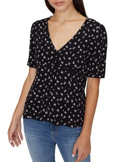 Sanctuary Birdie Floral Print Top (Regular & Petite)