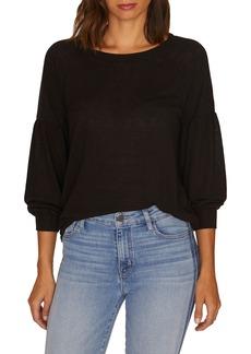 Sanctuary Blouson Sleeve Cozy Sweater (Regular & Petite)
