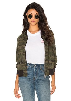 Sanctuary Bomber Jacket in Army. - size M (also in S,XS)