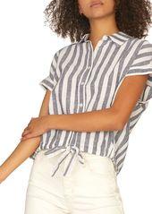 Sanctuary Borrego Striped Tie Shirt