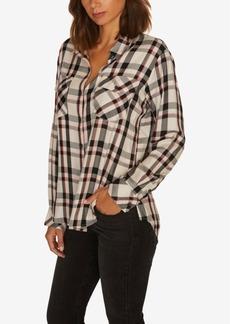 Sanctuary Boyfriend For Life Plaid Button-Up Shirt