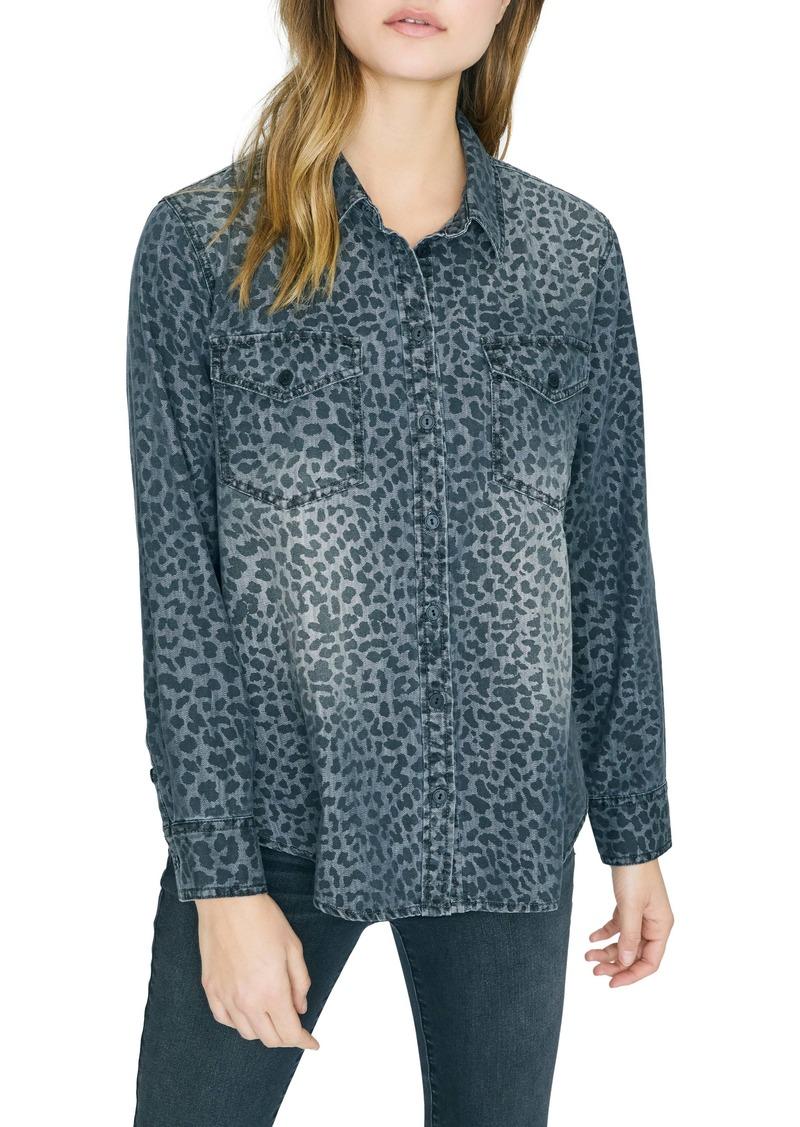 Sanctuary Boyfriend Forever Leopard Print Shirt (Regular & Petite)