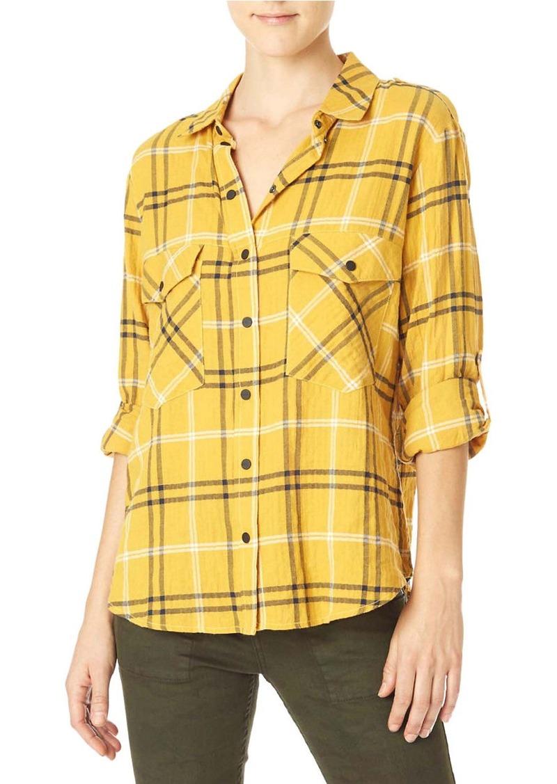 SANCTUARY Boyfriend Long Sleeve Shirt
