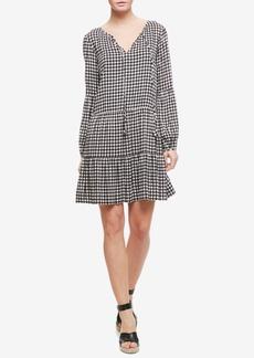 Sanctuary Britt Checkered Peasant Dress