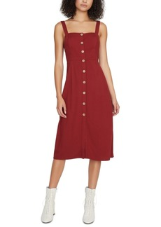 Sanctuary Button-Front Midi Dress