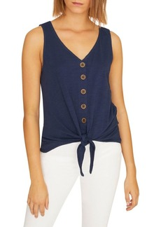 Sanctuary Button Tie Top