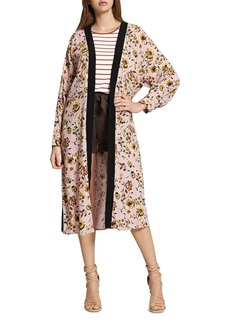 Sanctuary Calico Floral Print Kimono