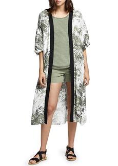 Sanctuary Calico Print Kimono