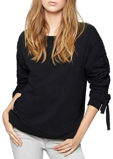 Sanctuary Camden Ruched-Sleeve Sweatshirt