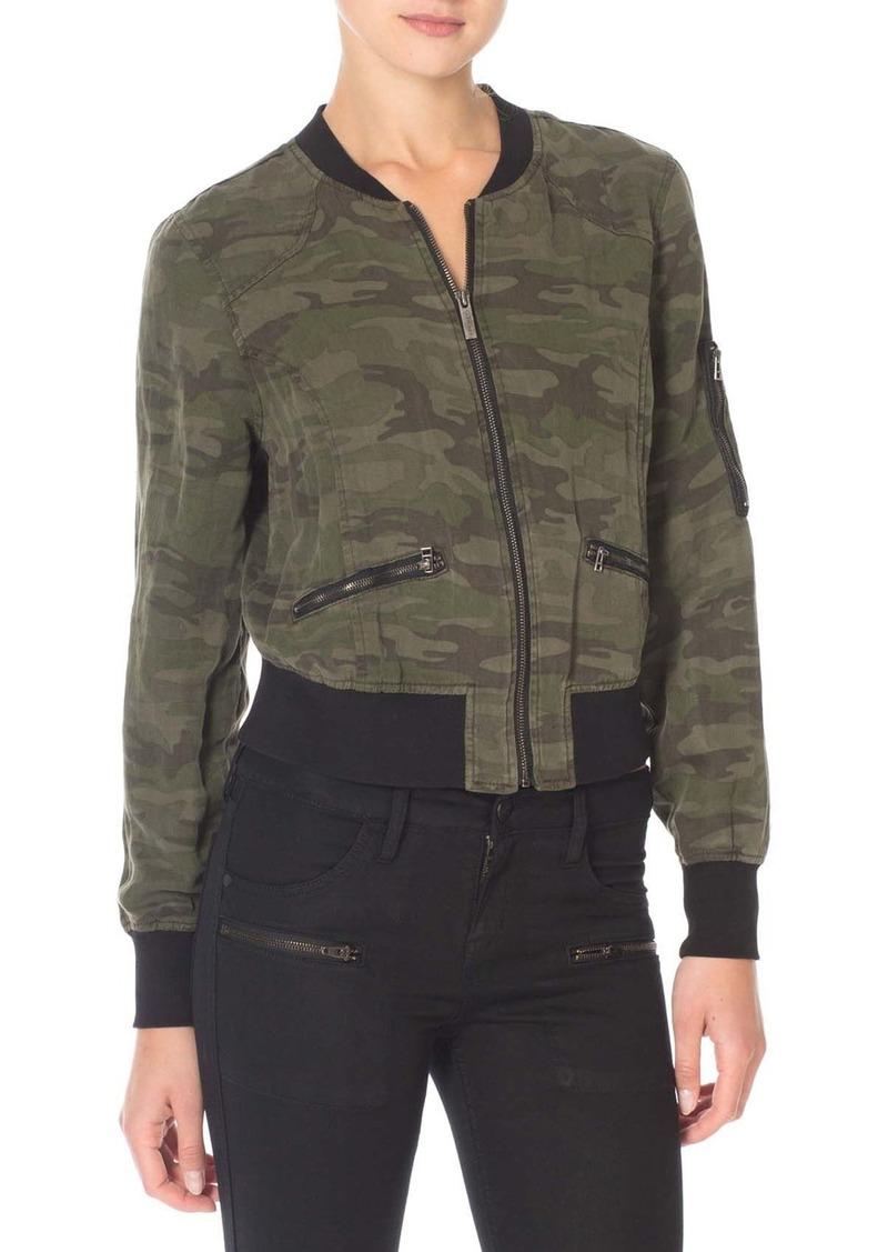 Sanctuary Camo Print Bomber Jacket