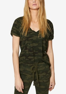 Sanctuary Camo V-Neck T-Shirt