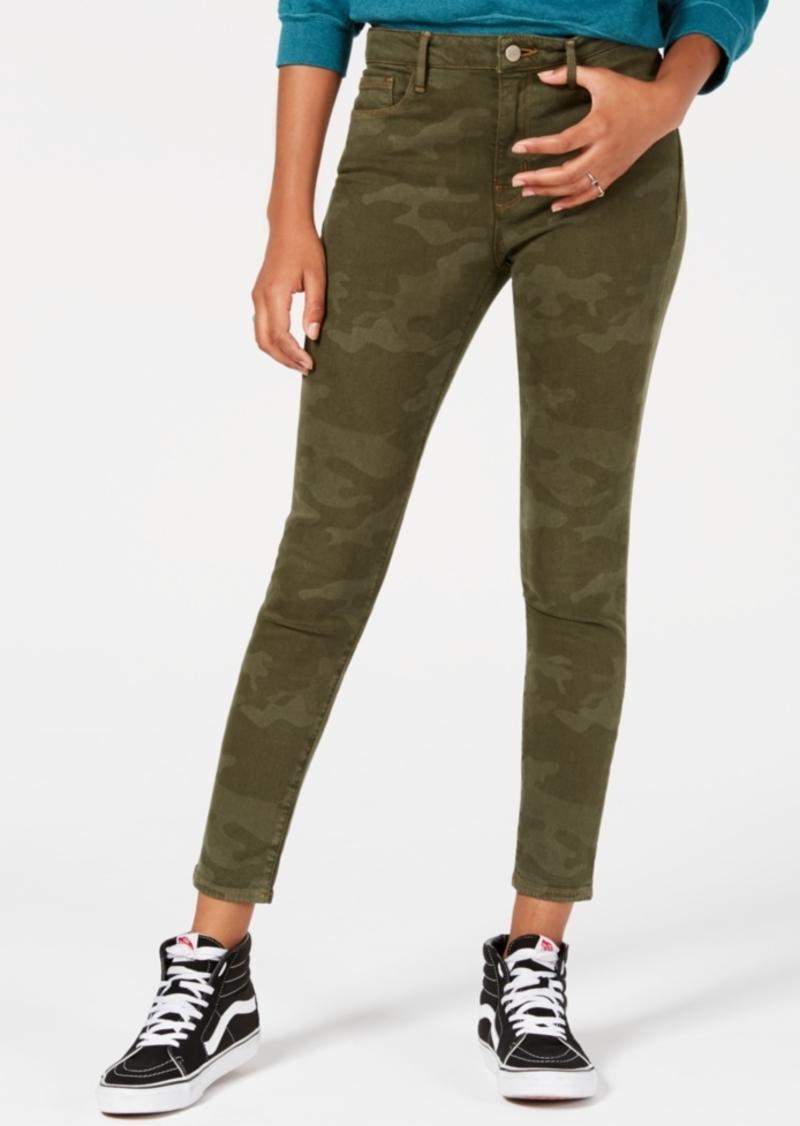 Sanctuary Camo-Print Skinny Jeans