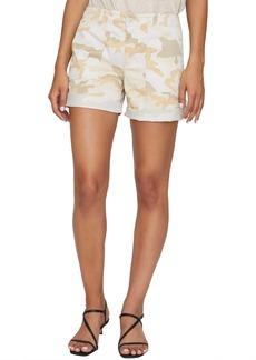 Sanctuary Camo Print Stretch Cotton Squad Shorts
