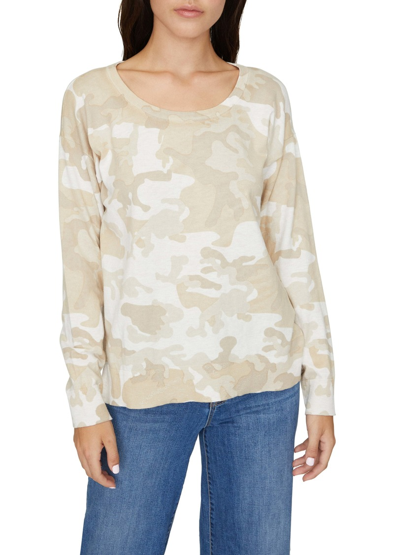 Sanctuary Camo Sweater (Regular & Petite)