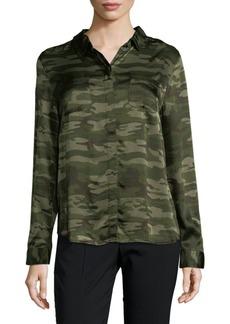 Sanctuary Camouflage Button-Down Shirt