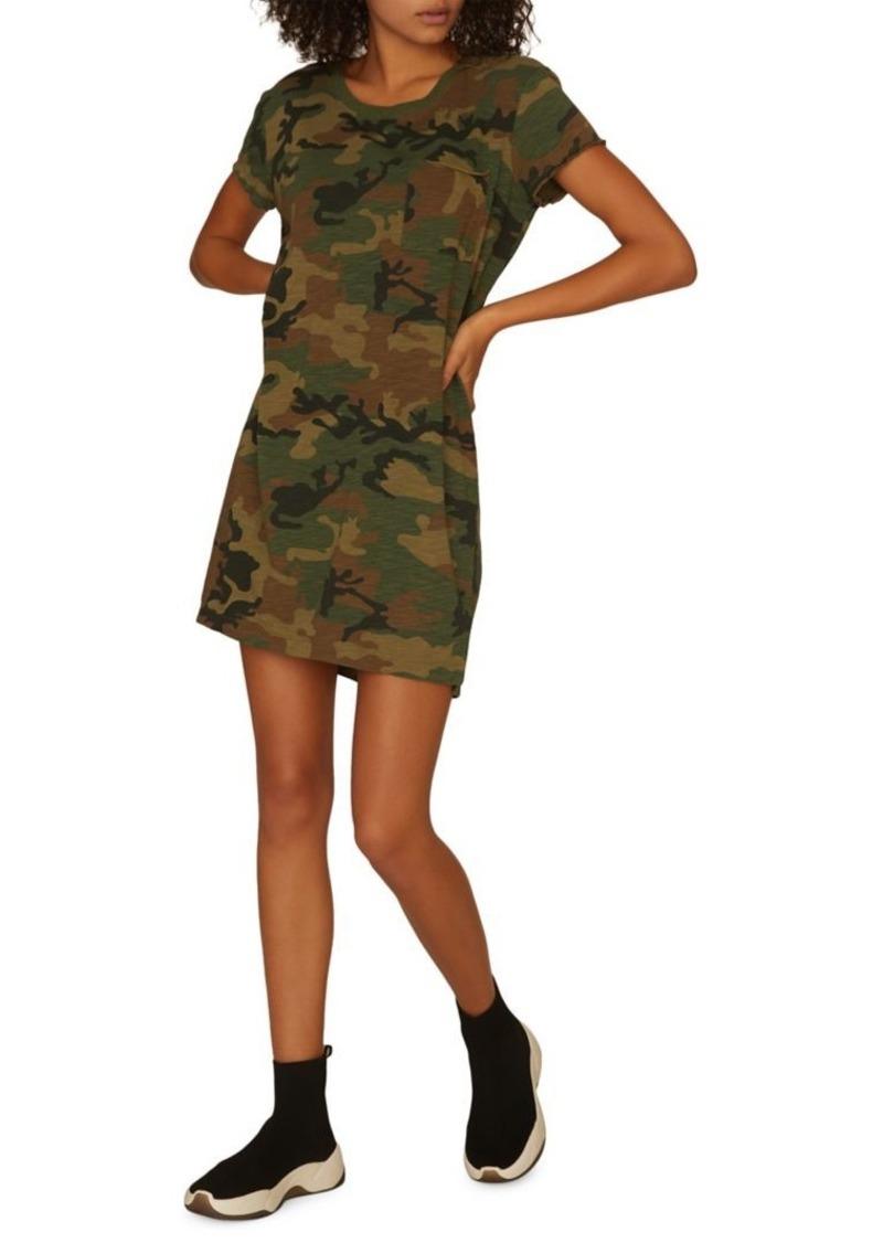 Sanctuary Camouflage-Print Shirt Dress