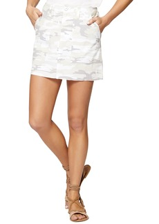Sanctuary Camouflage Release Hem Mini Skirt