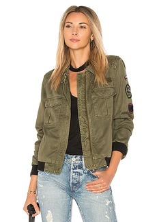 Sanctuary Camp Eisenhower Bomber in Army. - size L (also in M,S,XS)