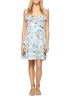Sanctuary Capri La Havana Ruffle Floral Dress - 100% Exclusive